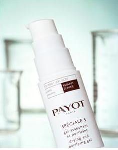 Подсушивающее средство  Speciale 5 gel assechant от Payot