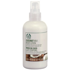 Молочко для тела Coconut Milk Body Lotion от The Body Shop