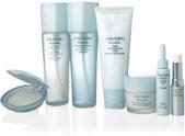 Крем для лица, очищающая пенка, тоник для лица и точечное средство серии Pureness от Shiseido