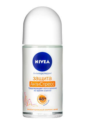 Дезодорант-антиперспирант АнтиСтресс в ролике от Nivea