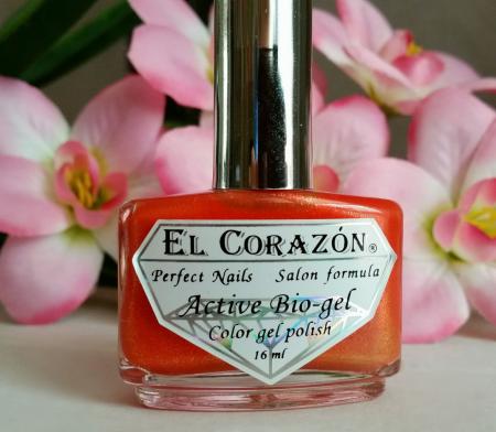 Лак для ногтей Active Bio-gel (оттенок № 423/561 Magic tail kamet) от EL Corazon