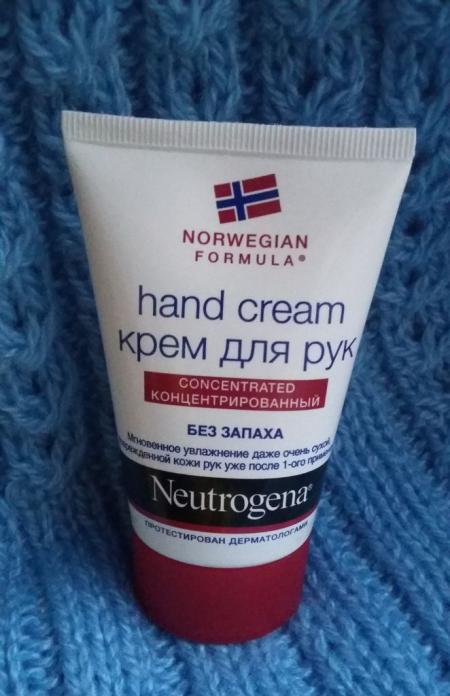 Крем для рук Norwegian formula концентрированный без запаха от Neutrogena
