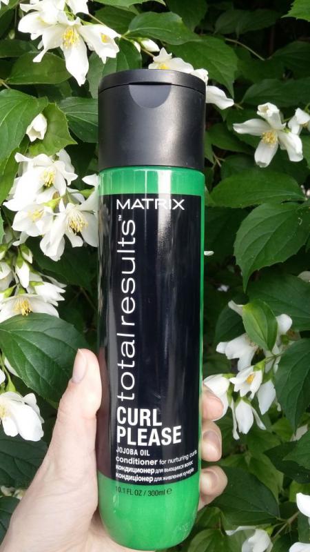 Кондиционер Total results для вьющихся и кудрявых волос от Matrix
