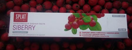 Укрепляющая зубная паста Siberry от Splat Special