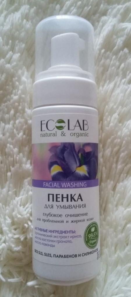 Пенка для умывания Глубокое очищение для проблемной и жирной кожи от Ecolab