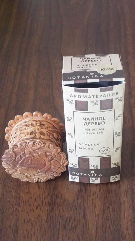 Эфирное масло чайного дерева от Botanika