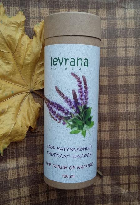 100% натуральный гидролат шалфея от Levrana