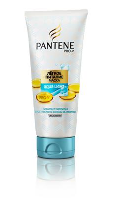 """Маска для волос """"Лёгкое питание"""" от Pantene Pro-V"""