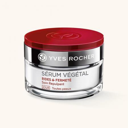 Крем для лица Дневной уход от морщин и для плотности кожи из серии SERUM VEGETAL от Yves Rocher