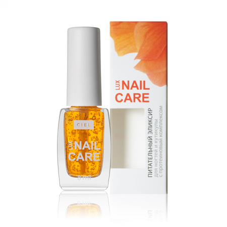 Питательный эликсир для ногтей и кутикулы с протеиновым комплексом Lux Nail Care от Ciel