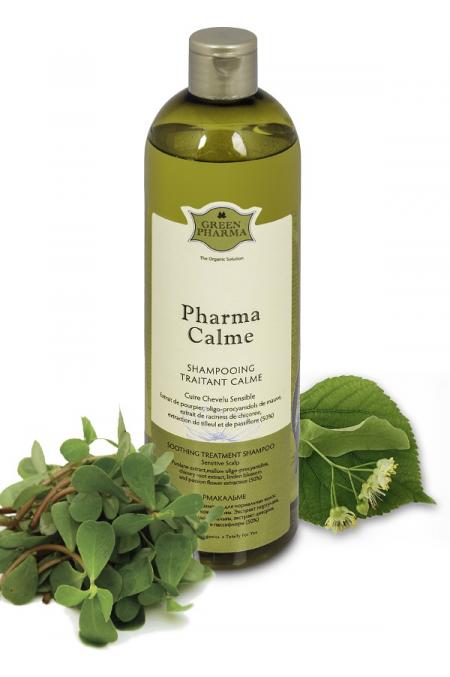 Успокаивающий шампунь для чувствительной кожи головы Pharma Calme от Green Pharma