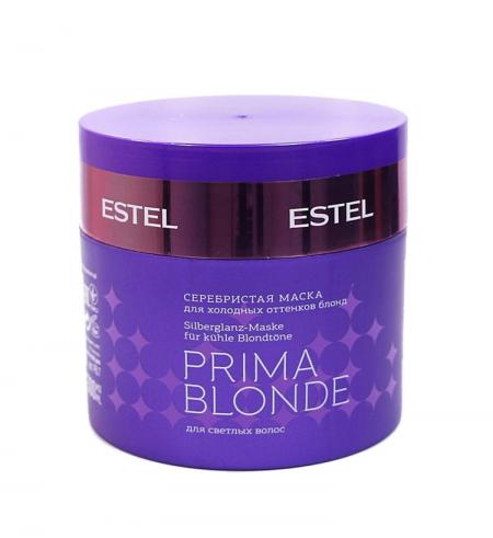Серебристая маска для холодных оттенков блонд от Estel