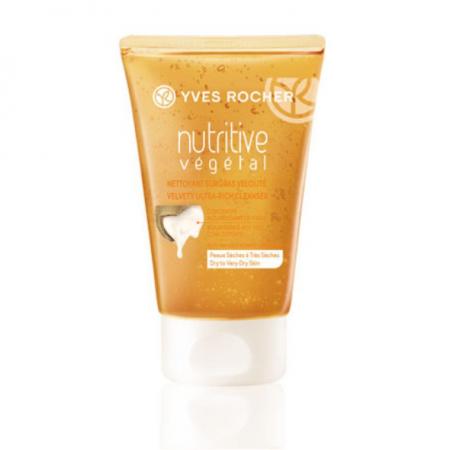 """Очищающий гель для лица """"Бархатное Питание"""" из серии NUTRITIVE VEGETAL от Yves Rocher"""