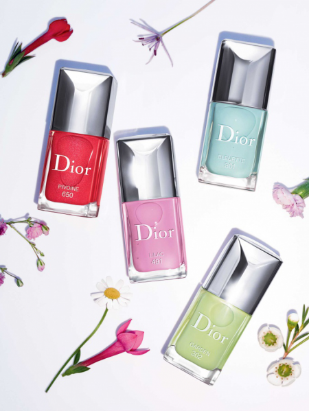 Лак для ногтей с эффектом гелевого покрытия Dior Vernis (оттенок № 491 Lilac) от Dior