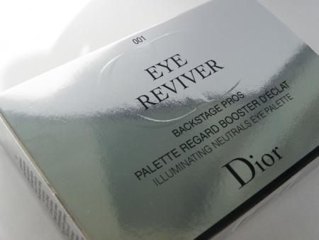 Палетка теней для век Eye Reviver backstage pros palette regard booster d'eclat illuminating neutrals eye palette (оттенок № 001) от Dior