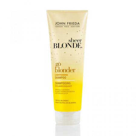 Осветляющий шампунь Go Blonder от John Frieda