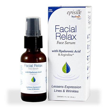 Cыворотка для лица с гиалуроной кислотой и аргирелином Facial Relax от Hyalogic LLC