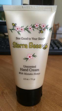 Крем для рук Uncented Hand Cream with Manuka honey от Sierra Bees