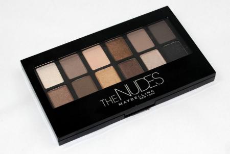 Тени для век The Nudes Palette от Maybelline