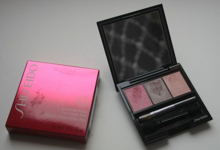 Тени для век Luminizing Satin Eye Color Trio (оттенок № RD711 Pink Sands) от Shiseido