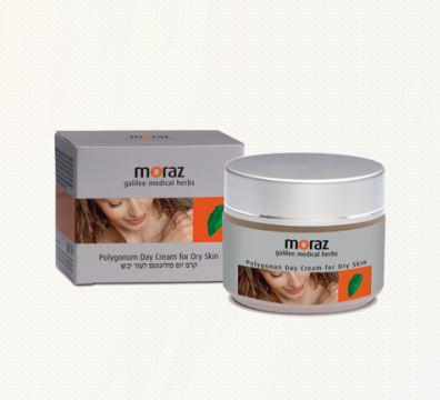 Дневной увлажняющий крем для сухой кожи Polygonum от Moraz