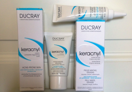 Маска тройного действия для проблемной и комбинированной кожи лица Keracnyl triple action mask от Durcay