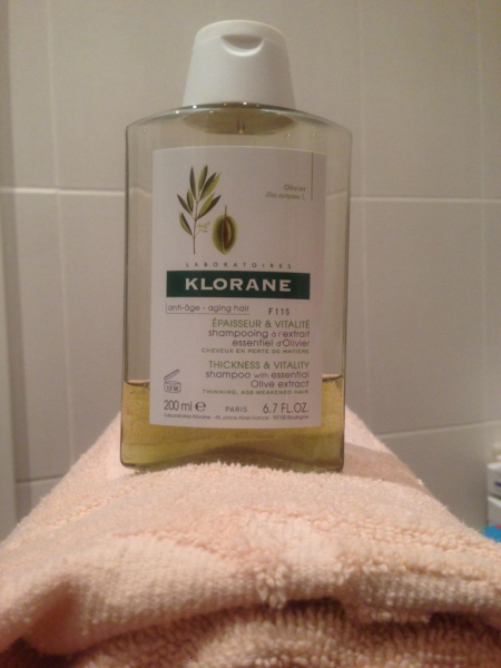 Шампунь с экстрактом оливы Oliva от Klorane