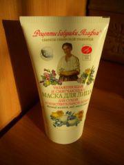 Маска для лица для сухой и чувствительной кожи от Рецепты бабушки Агафьи