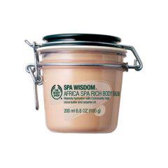 Суфле для тела Shea Butter & Sesame Oil Body Balm от The Body Shop