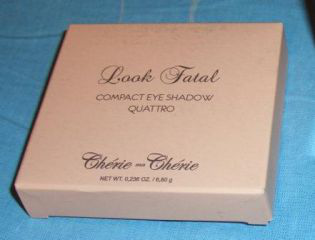 Компактные четырехцветные тени Look Fatal от Cherie ma Cherie