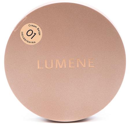 Крем-пудра с эффектом матового сияния Touch of radiance (оттенок № 01 Cream Beige) от Lumene