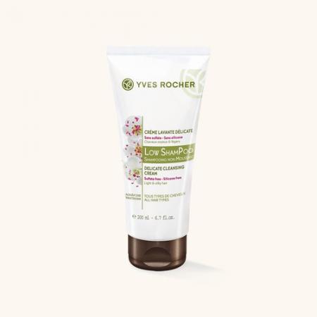 Мягкий крем для мытья волос Low ShamРoo от Yves Rocher