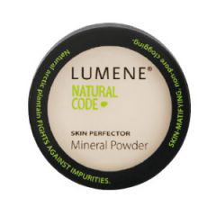 Компактная пудра с минералами Natural Code SKIN PERFECTOR  от Lumene