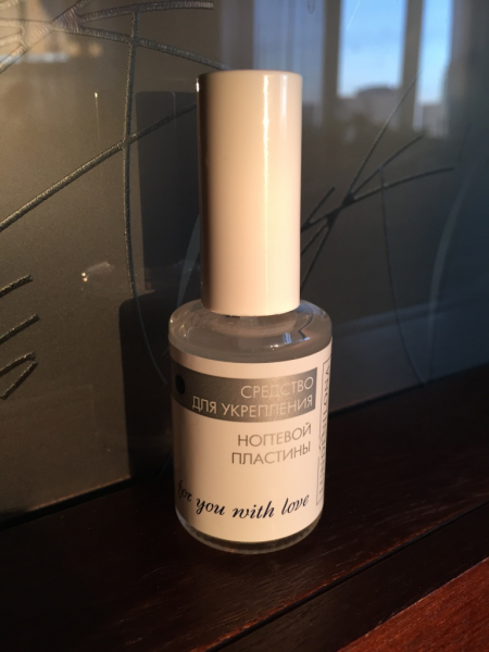 Средство для укрепления ногтевой пластины от LundenIlona