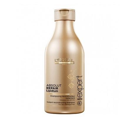 Шампунь для быстрого восстановения волос Absolut Repair Lipidium от L'Oreal professionnel