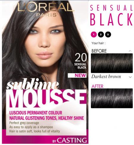 """Краска для волос """"Sublime mousse"""" от L'Oreal (1)"""