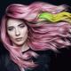 Модная покраска волос