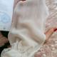 Рукавица для пилинга лица из крепового шелка (для чувствительной кожи) от Шелковая Мануфактура