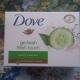 """Крем-мыло Go fresh """"Аромат зелёного чая и огурца"""" от Dove"""