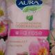 """Влажные салфетки """"Освежающие"""" Wild rose от Aura Beauty"""