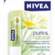 Бальзам для губ Pure&Natural от Nivea